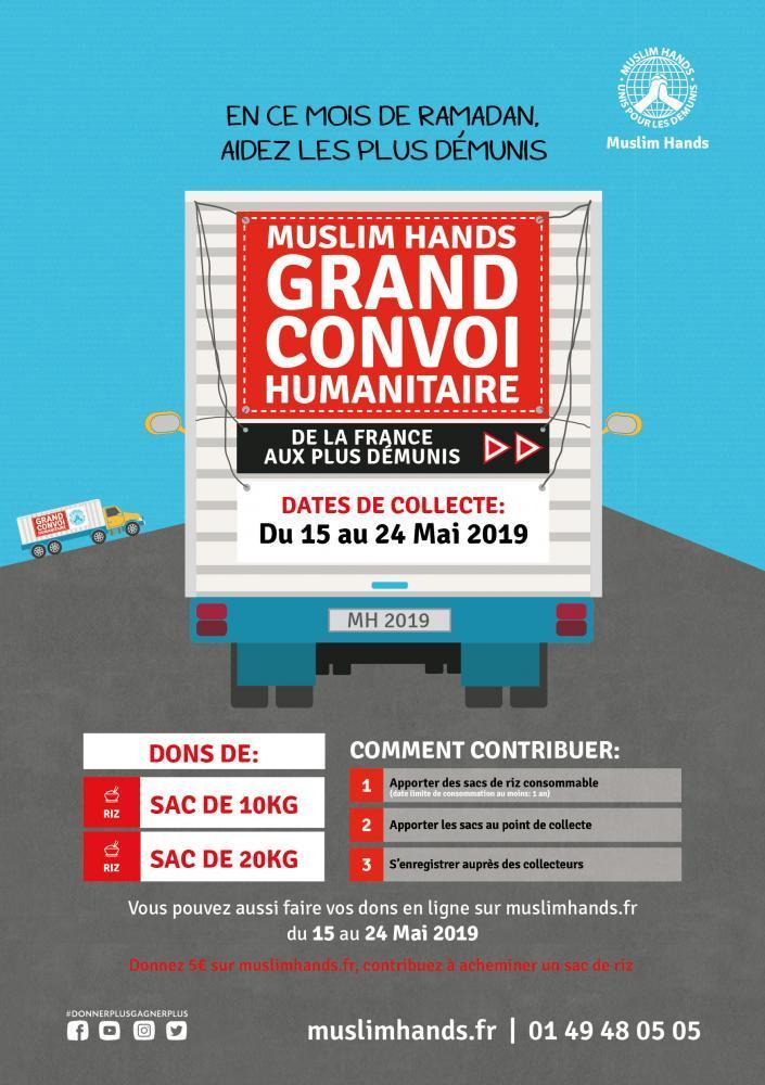 Le grand convoi humanitaire 2019